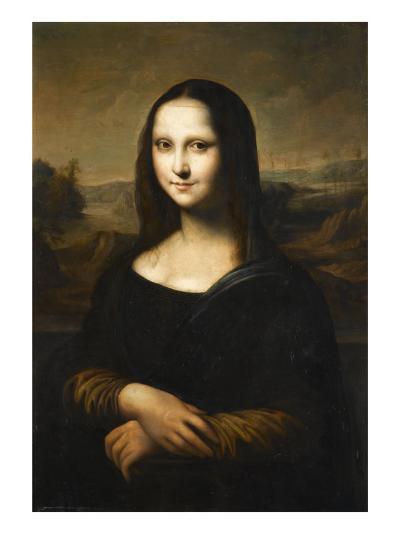 Copie de la Joconde de Leonard de Vinci-L?onard de Vinci-Giclee Print