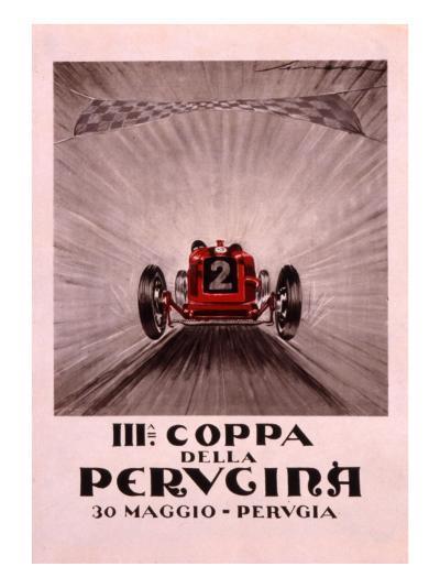 Coppa Della Perugina--Giclee Print
