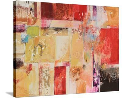 Copper And Red Series 4--Stretched Canvas Print