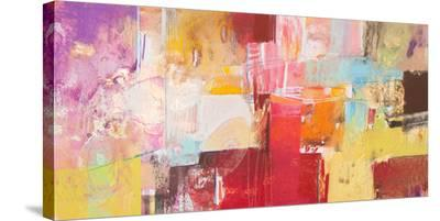 Copper And Red Series 5--Stretched Canvas Print