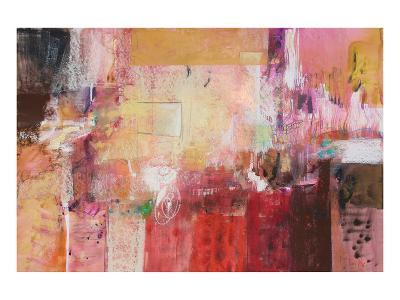 Copper And Red Series 6--Art Print