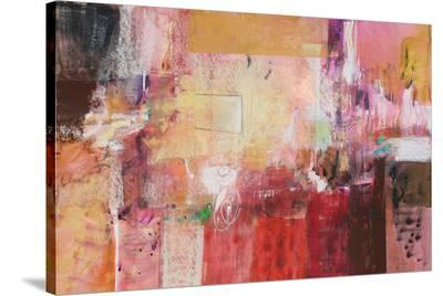 Copper And Red Series 6--Stretched Canvas Print