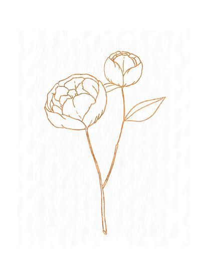Copper Botanical 1-Kimberly Allen-Art Print