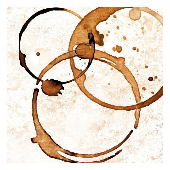 Copper Circles 2-Kimberly Allen-Art Print
