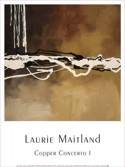 Copper Concerto I-Laurie Maitland-Art Print