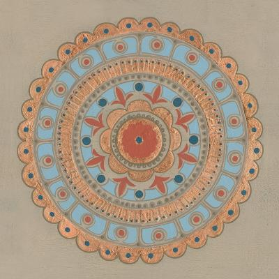 Copper Mandala II-Kathrine Lovell-Art Print