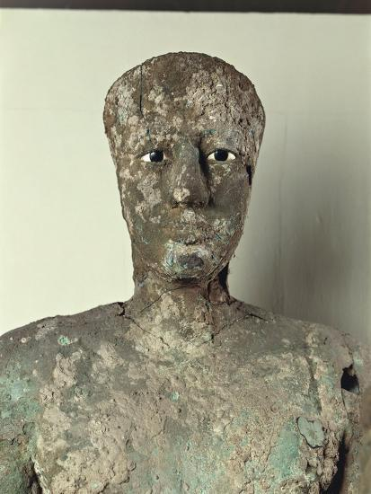 Copper Statue of Pepi I from Hierakonpolis--Giclee Print