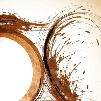 Copper Swirls 2-Kimberly Allen-Art Print