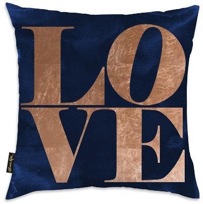 Copper Throw Pillow - Love--Home Accessories