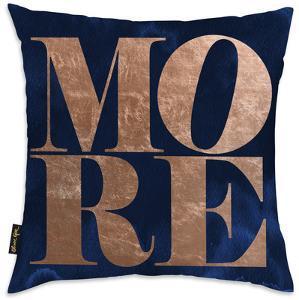 Copper Throw Pillow - More