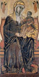 Madonna and Child by Coppo Di Marcovaldo