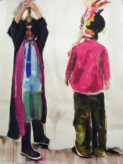 Cops and Robbers, 2006-Daniel Clarke-Giclee Print