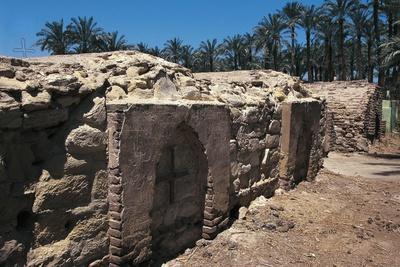 Coptic Cemetery, Medum, Egypt--Giclee Print