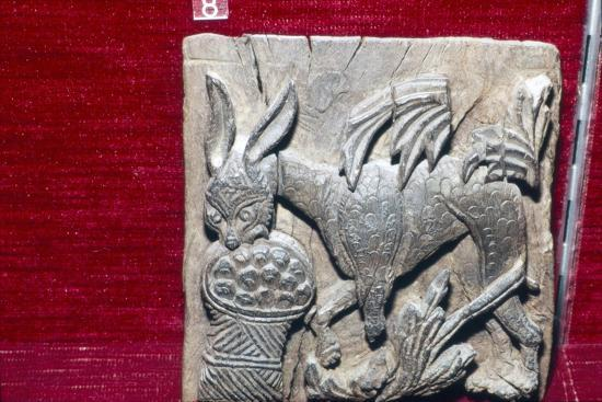 Coptic Woodcarving of Donkey, 6th century-Unknown-Giclee Print