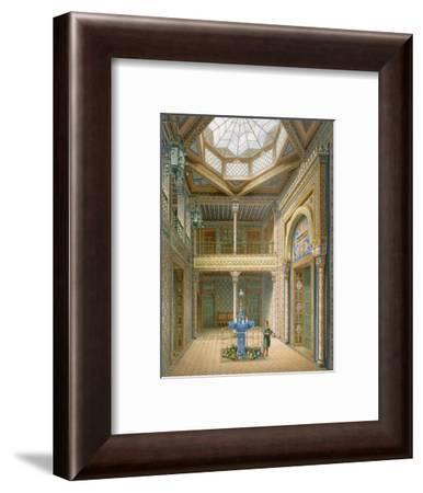 Copula Style Ceiling, Design for the Entrance Hall to Wilhelma, 1837-Karl Ludwig Wilhelm Zanth-Framed Giclee Print