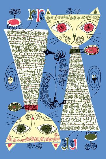 Copy Cat-Melinda Beck-Art Print