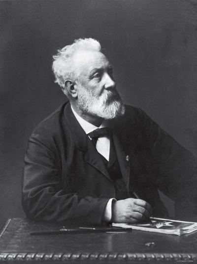 Copy from Carte de Visite of French Writer and Futurist Jules Verne--Premium Photographic Print