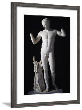 Copy of Diadoumenos by Polykleitos--Framed Giclee Print