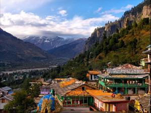 Himalayan Village by copyright