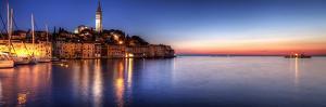 Rovinj Blue Hour Sunset / Istria, Croatia by Copyright NielsKristian Photography