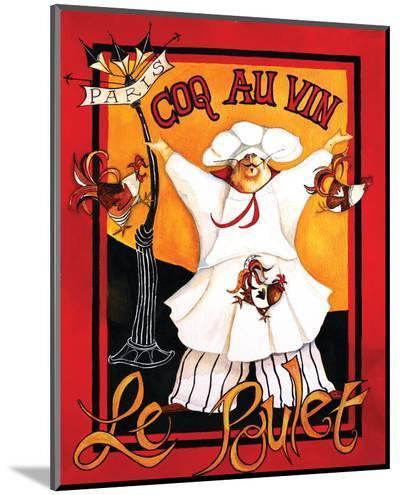 Coq Au Vin-Jennifer Garant-Mounted Print