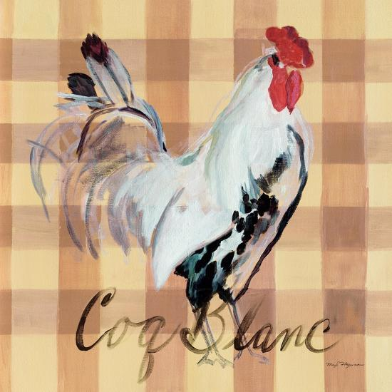 Coq Blanc-Marilyn Hageman-Art Print