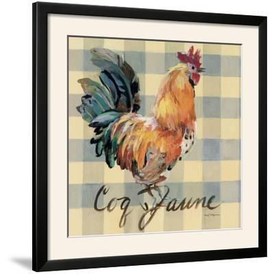Coq Jaune-Marilyn Hageman-Framed Photographic Print