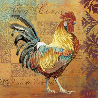 Coq Motifs I--Giclee Print