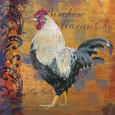 Coq Motifs III--Giclee Print