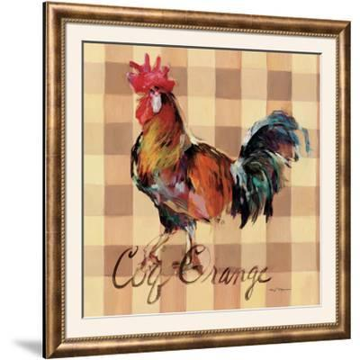 Coq Orange-Marilyn Hageman-Framed Photographic Print