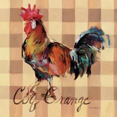 Coq Orange-Marilyn Hageman-Art Print