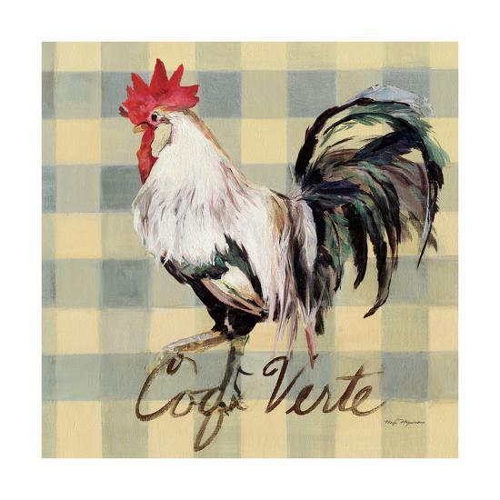 Coq Verte-Marilyn Hageman-Art Print