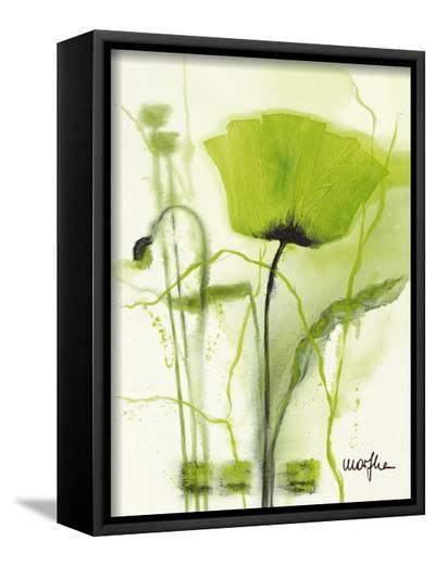 Coquelicot Vert II-Marthe-Framed Canvas Print