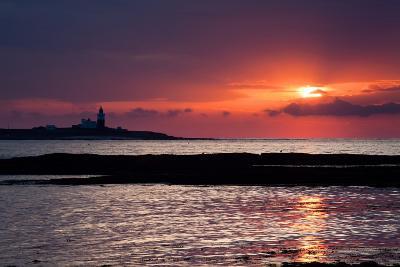Coquet Island Sunrise-Mark Sunderland-Photographic Print