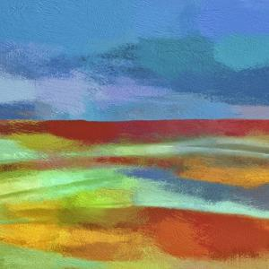 Abstract Landscape II by Cora Niele