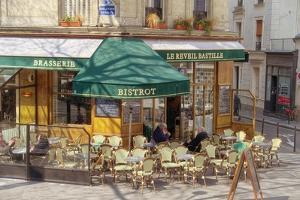 Bistro and Brasserie Le Reveil Bastille by Cora Niele