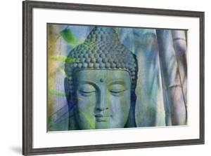Budha with Bamboo by Cora Niele