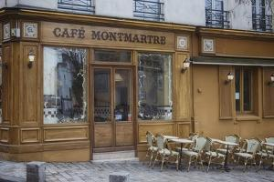 Cafe Montmartre by Cora Niele