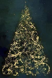 Christmas Tree at Night by Cora Niele