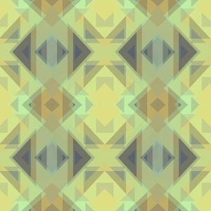 Ethnic Pattern Lemon Yellow by Cora Niele