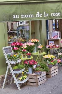 Flower Shop In Paris by Cora Niele