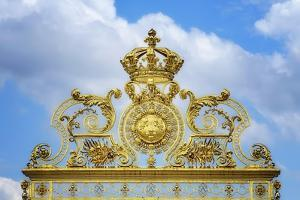 Golden Gate Of The Palace Of Versailles II by Cora Niele