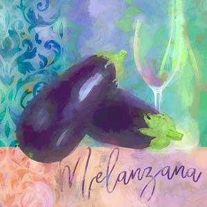 Melanzana - Aubergine by Cora Niele