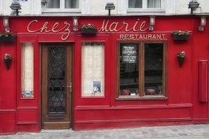 Restaurant Chez Marie by Cora Niele
