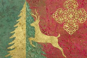 Xmas Tree and Deer by Cora Niele
