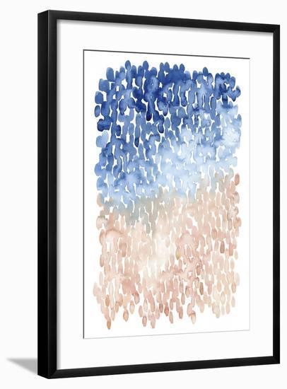 Coral Cascade II-Grace Popp-Framed Art Print