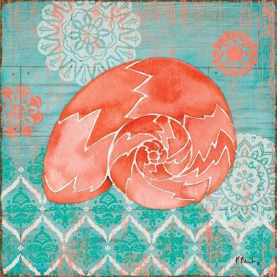 Coral Cove Shells III-Paul Brent-Art Print