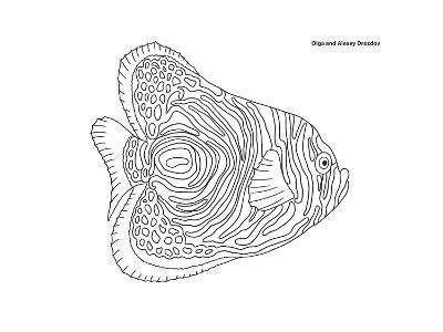 Coral Fish 13-Olga And Alexey Drozdov-Giclee Print