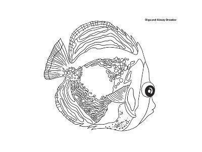 Coral Fish 14-Olga And Alexey Drozdov-Giclee Print