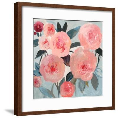 Coral Floral-PI Studio-Framed Art Print